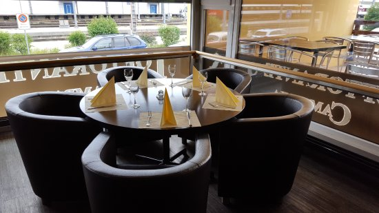 Romanshorn, Switzerland: Tisch im Ristorante