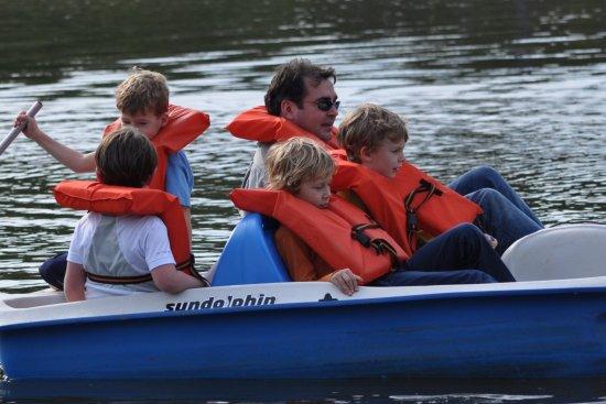 Creedmoor, Carolina del Norte: Paddle Boats