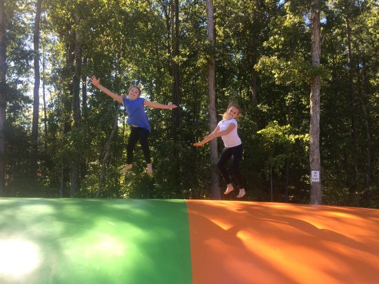 Creedmoor, NC: Jumping Pillow