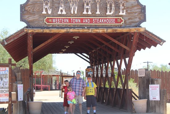 Chandler, AZ: Rawhide Entrance