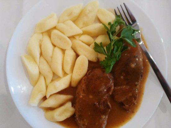 Castlebar, İrlanda: Pork Neck with silesian noodles