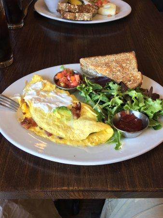 First Watch: Bacado Omelet & Triathlete Breakfast