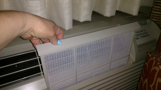 Holiday Inn Express and Suites Fort Lauderdale Executive Airport: Super Clean Air Filters!