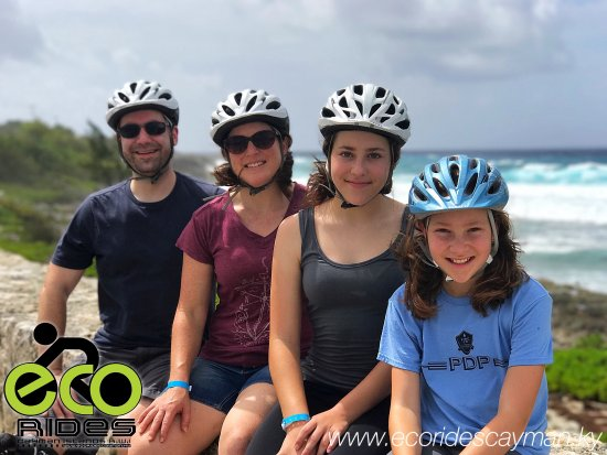 East End, Grand Cayman: Relaxing on Lovers Wall with a beautiful view of the Ironshore. Experience more with ECO Rides C
