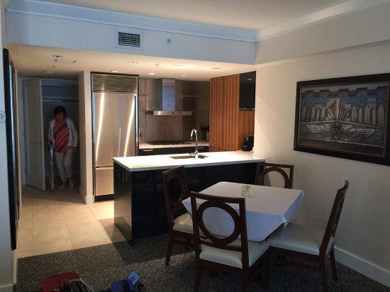 L'Hermitage Hotel: A fantastic kitchen!