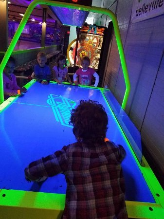 Belleville, IL: There's something for everyone at Fun Spot, whether it's skating, arcade games, or just hanging
