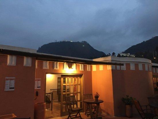 Hotel Casa Deco: Blick von der Terrasse
