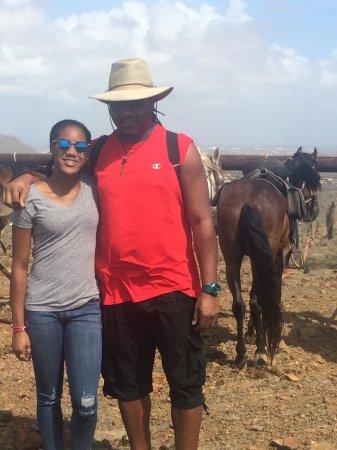 Santa Cruz, Aruba: Father/Daughter ride on 6/13/17