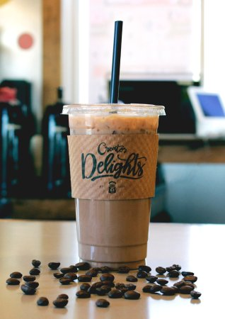 Bolivar, MO: Enjoy an Iced Coffee including flavors like The Liquid Pecan Pie or the Red Velvet Goodness