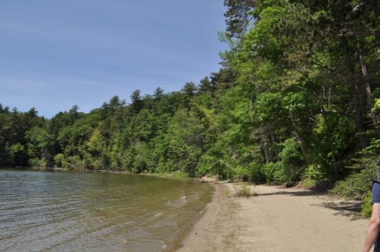 Colchester, Vermont: the beach, looking the other way