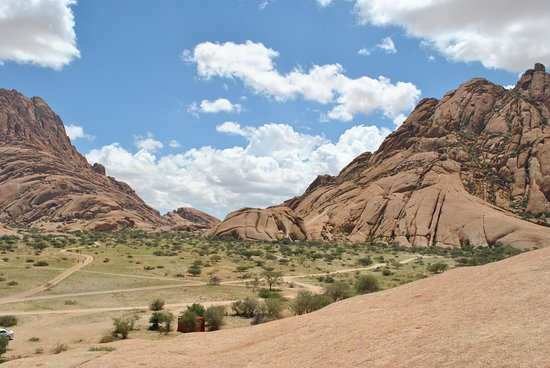 Damaraland, Namíbia: view from the pools