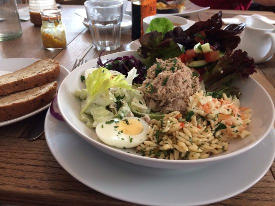 Tideswell, UK: Delicious salad
