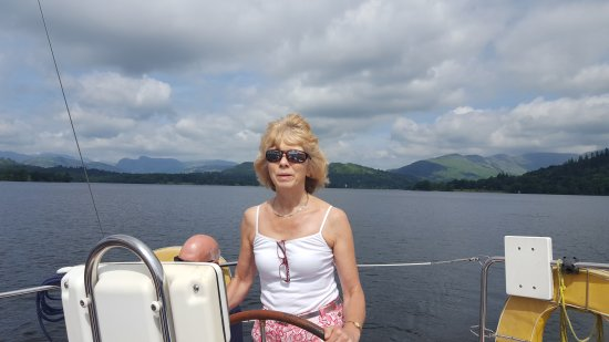 Bowness-on-Windermere, UK: 20th June 2017, morning sail and lunch