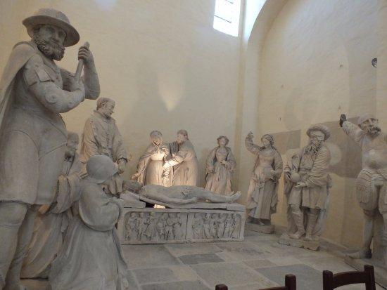 Châtillon-sur-Seine, França: mise au tombeau