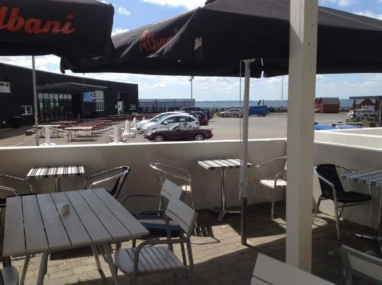 Langeland, เดนมาร์ก: Vores dejlige terrasse