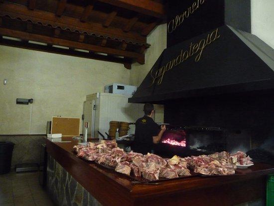 Астигаррага, Испания: Le coin du grilleur