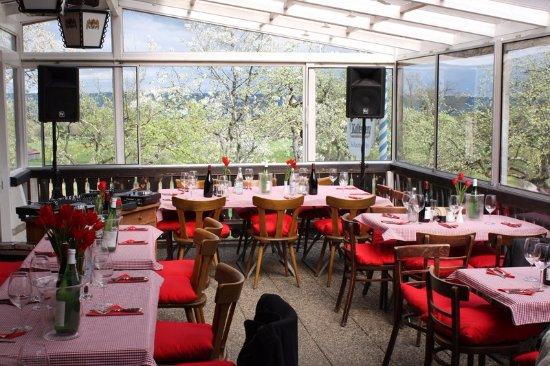 Dießen am Ammersee, Deutschland: Im Wintergarten