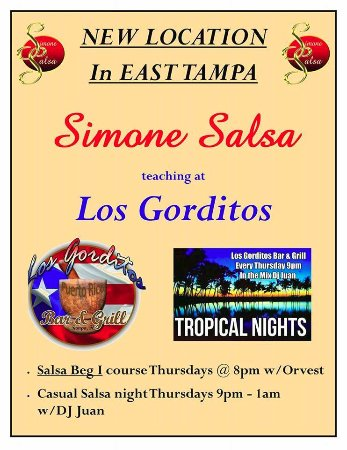 Salsa Classes at Los Gorditos every Thursday - Picture of