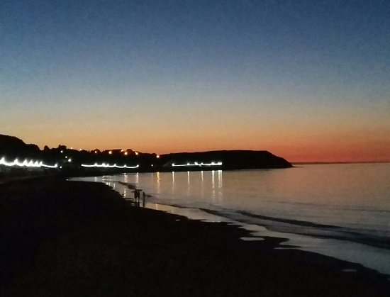 The Almar: Late evening at the North Sands beach