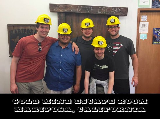 Gold Mine Escape Room