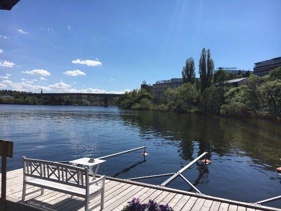 Бромма, Швеция: Vista da mesa