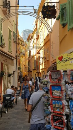 Vieux Monaco: Улочка старого города