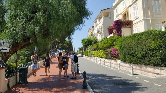 Vieux Monaco: Много зелени и туристов
