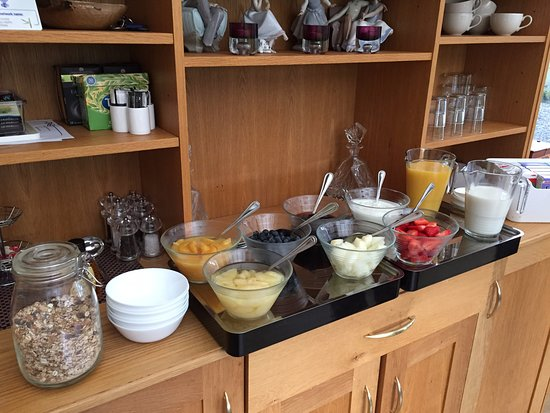 Callander, UK: Auchenlaich Farmhouse - Breakfast