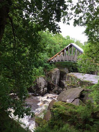 Callander, UK: Bracklinn Falls Bridge