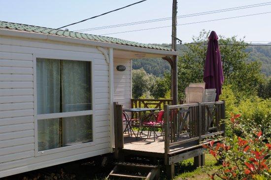 Seix, France: Mobil-home