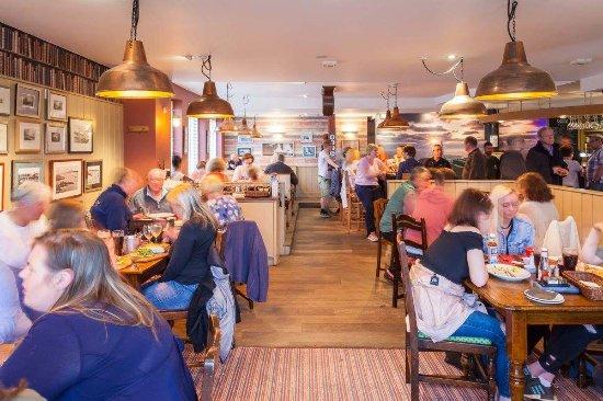 Trearddur Bay, UK: A good atmosphere in the restaurant