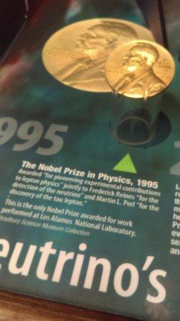 Bradbury Science Museum : Nobel prize