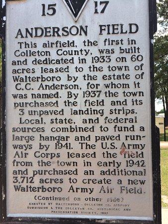 Walterboro, Carolina del Sur: Tuskegee Airmen Memorial