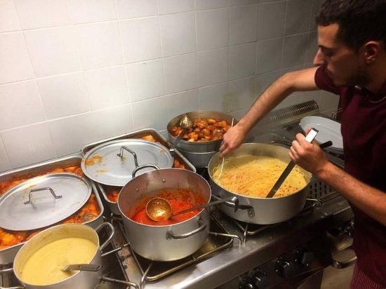 Spezzano della Sila, Italië: Lo chef