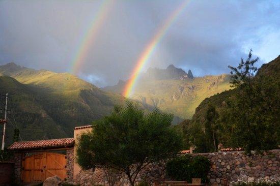 Huaran, Peru: View