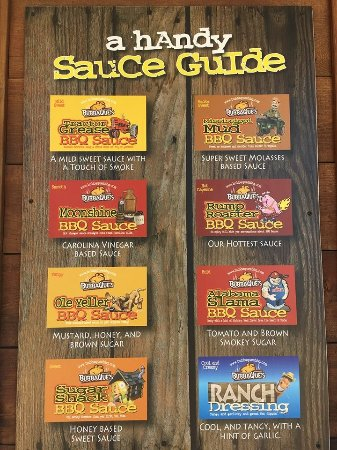 Leesville, Louisiane : Sauce Guide