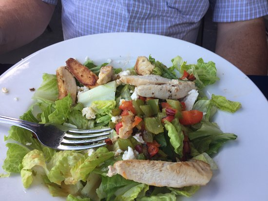 Crystal Beach, Canada: chicken salad