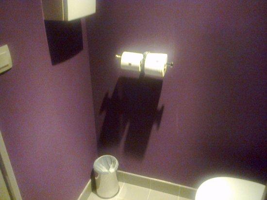 Niort, Frankrig: wc.