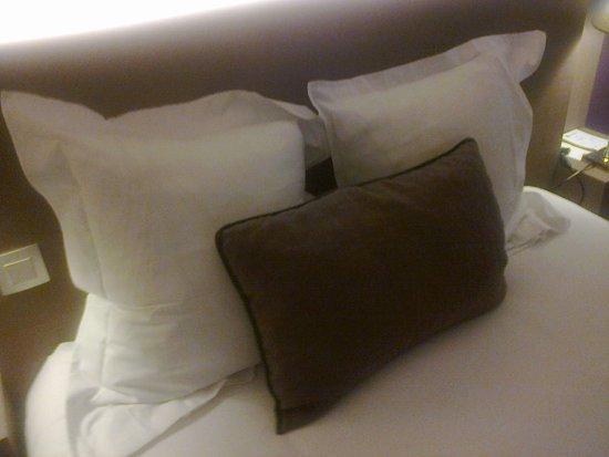 Niort, Fransa: dessus de lit.