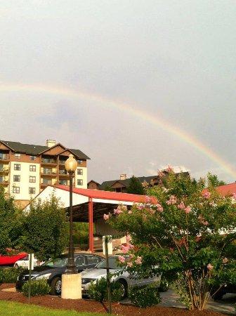 Maynardville, TN: Rainbow over Hillside Winery