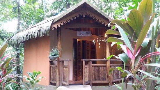 Korrigan Lodge: Bungalow we stayed in (Dour)
