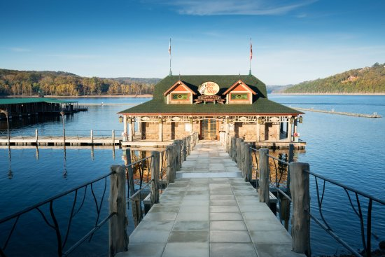 Ridgedale, MO: Bass Pro Shops Long Creek Marina on Table Rock Lake