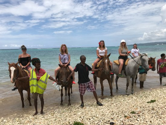 Horseback Riding Through A Small Jamaican Town And Then Through - Liberty tours jamaica