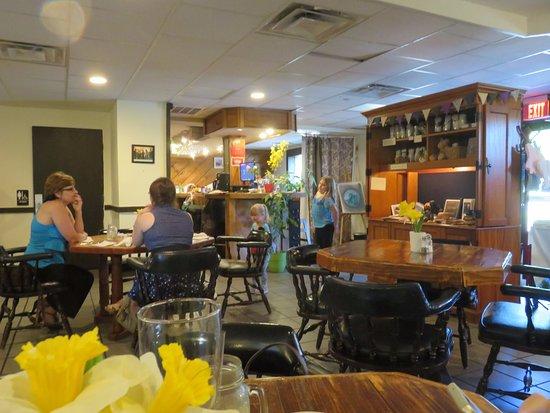 Maryville, Τενεσί: Interior - Roland's Bistro