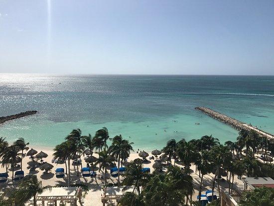 Divi Aruba Phoenix Beach Resort: View from our room.