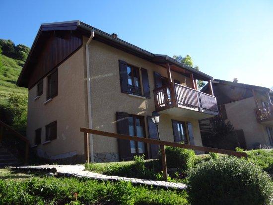 Panoramic Village (Chalets de la Meije): Een chalet bestaat uit 2 aparte wooneenheden