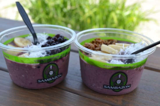 Kingston, RI: Sambazon Açaí Bowls