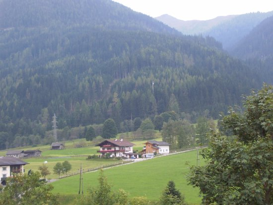 Flachau, Austria: Вид из окна гостиницы