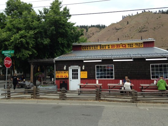 Cashmere, WA: Country Boys BBQ