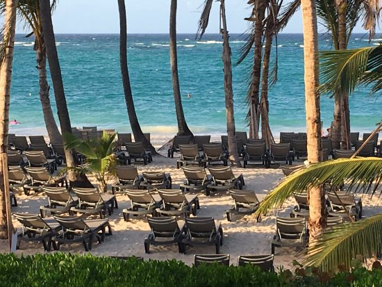 view of beach from my room in building 26 photo de occidental punta cana bavaro tripadvisor. Black Bedroom Furniture Sets. Home Design Ideas